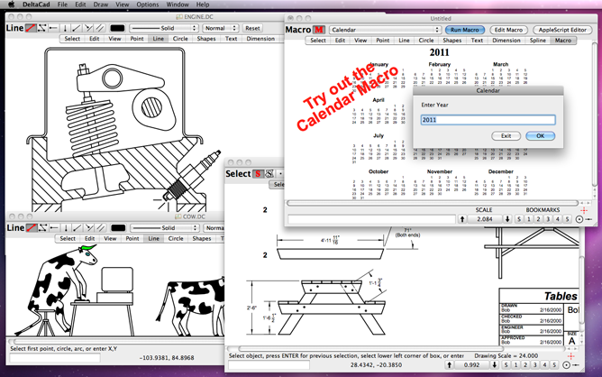 delta cad drawing to pdf